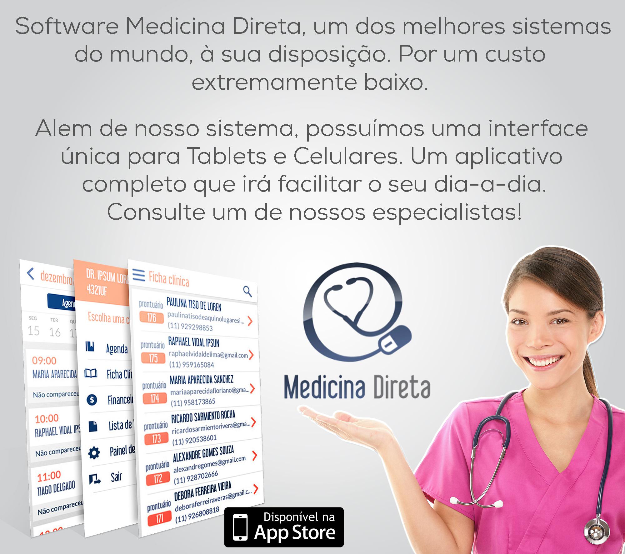 Campanha Medicina Direta para 2016 | Seu consultório informatizado