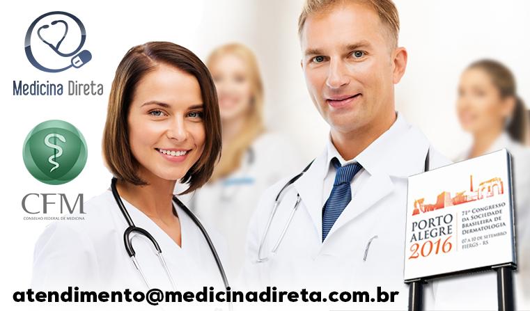 Agende uma apresentação do prontuário eletrônico da Medicina Direta Certificado pelo CFM durante o Congresso da SBD em Porto Alegre